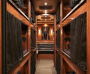 Roadies Coach Interior